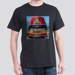 Key West Southern Most Point Monument Dark T-Shirt