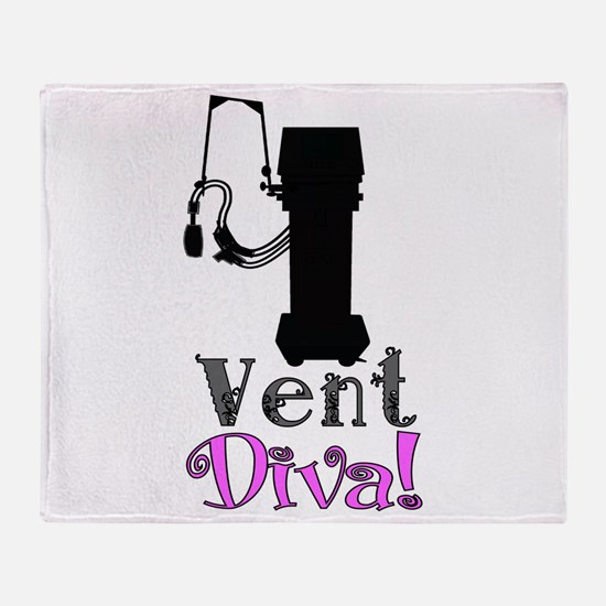 Vent Diva.PNG Throw Blanket