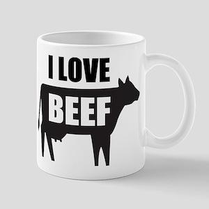 I Love Beef Mug