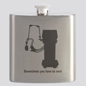 Sometimes you have to vent all black Flask