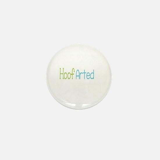 hoof arted Mini Button