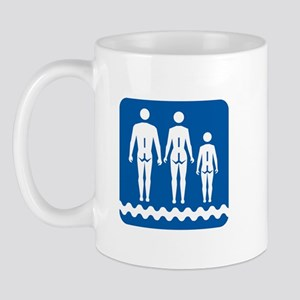 Nudist camp, Quebec - Canada Mug