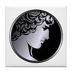 Antinous Medallion Tile Coaster