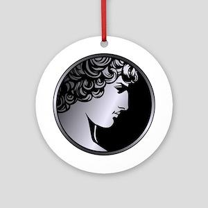 Antinous Medallion Ornament (Round)