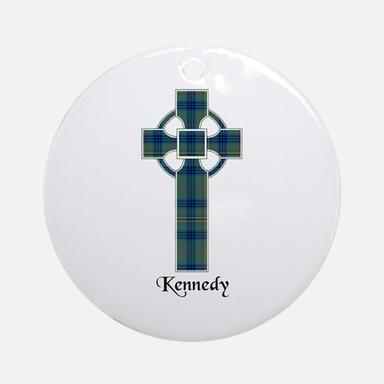 Cross - Kennedy Ornament (Round)