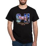 9-11 Never Forget Dark Tee
