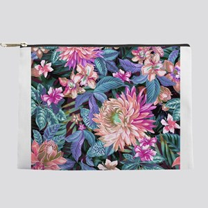 Exotic Floral Makeup Pouch