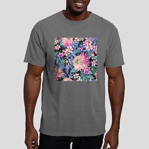Exotic Floral Mens Comfort Colors Shirt