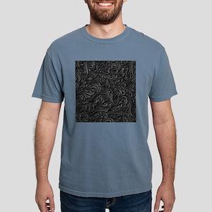 Black Flourish Mens Comfort Colors Shirt