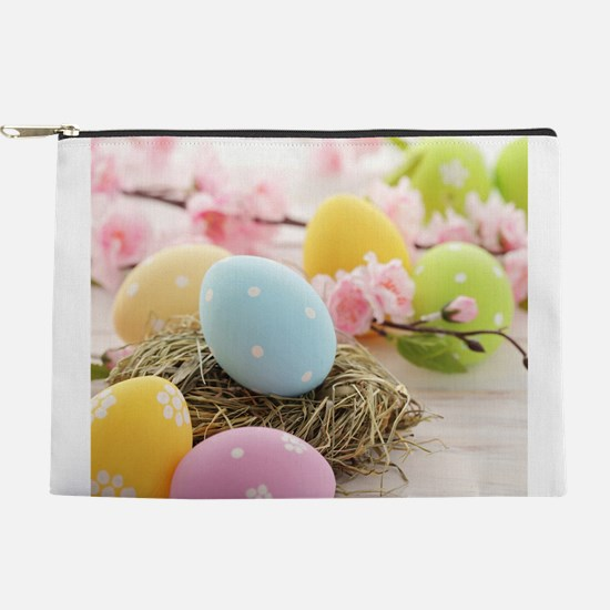 Easter Eggs Makeup Pouch