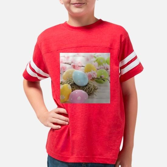 Easter Eggs Youth Football Shirt