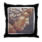 Antinous Mosaic Throw Pillow