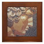 Antinous Mosaic Framed Tile
