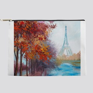 Paris Painting Makeup Pouch