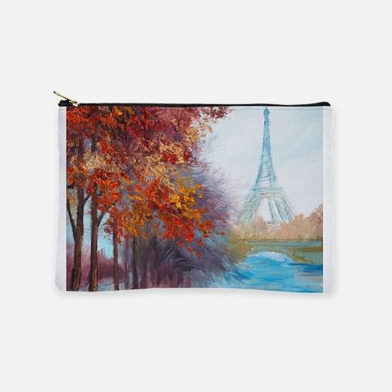 Paris Painting Makeup Pouch