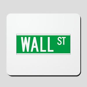 Wall St., New York - USA Mousepad