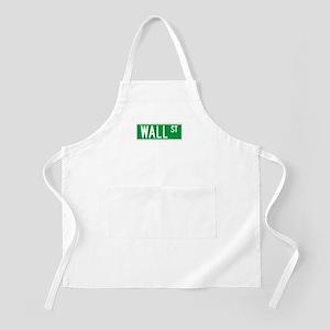 Wall St., New York - USA BBQ Apron