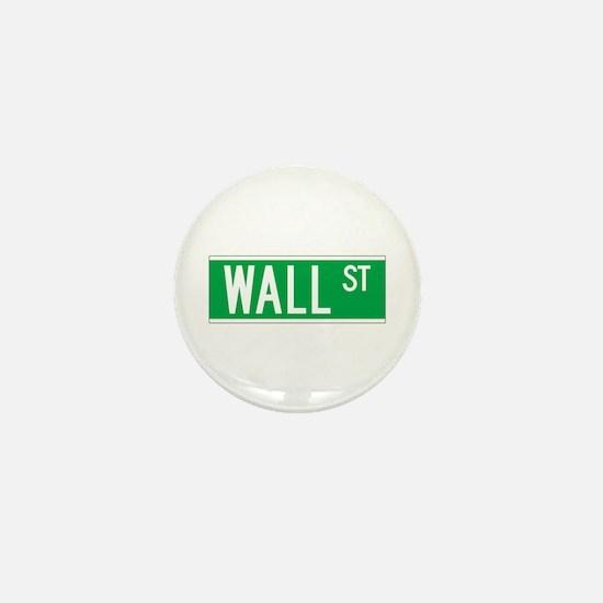 Wall St., New York - USA Mini Button