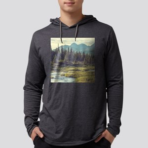 Mountain Meadow Mens Hooded Shirt