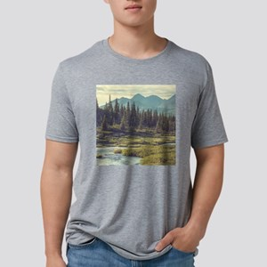 Mountain Meadow Mens Tri-blend T-Shirt