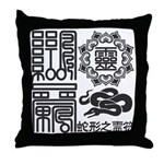 Snake spiritual Throw Pillow