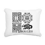 Snake spiritual Rectangular Canvas Pillow