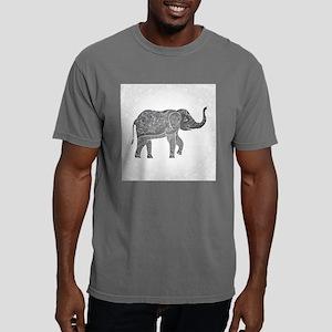 Indian Elephant Mens Comfort Colors Shirt