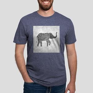 Indian Elephant Mens Tri-blend T-Shirt
