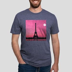 Eiffel Tower Mens Tri-blend T-Shirt