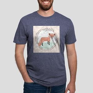 Winter Fox Mens Tri-blend T-Shirt