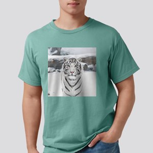 White Tiger Mens Comfort Colors Shirt