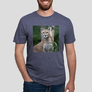 Mountain Lion Mens Tri-blend T-Shirt