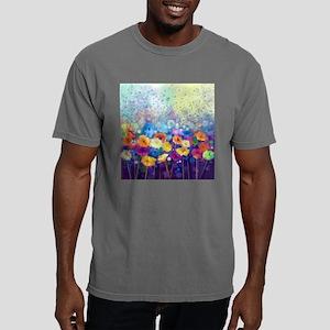 Floral Painting Mens Comfort Colors Shirt