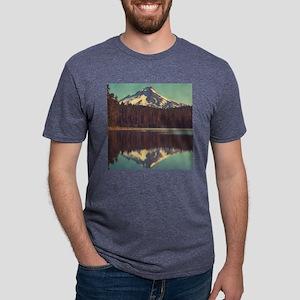 Mount Hood Mens Tri-blend T-Shirt