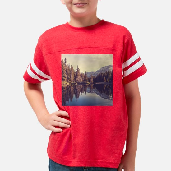 Glacier National Park Youth Football Shirt
