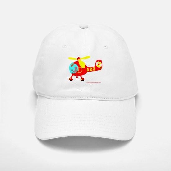 Wee Helicopter! Baseball Baseball Cap
