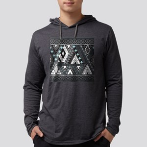 Native Pattern Mens Hooded Shirt