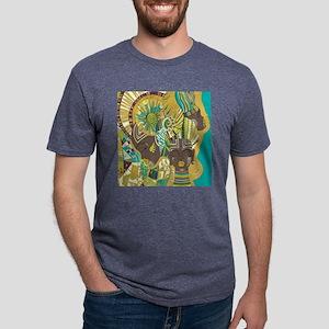 African Woman Mens Tri-blend T-Shirt