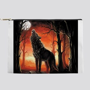 Howling Wolf Makeup Pouch
