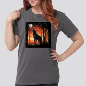 Howling Wolf Womens Comfort Colors Shirt
