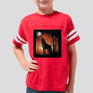 Howling Wolf Youth Football Shirt