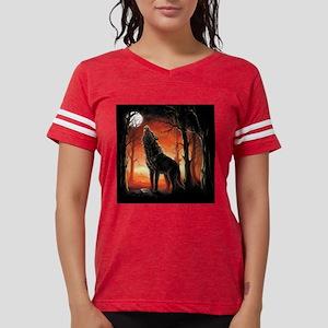 Howling Wolf Womens Football Shirt