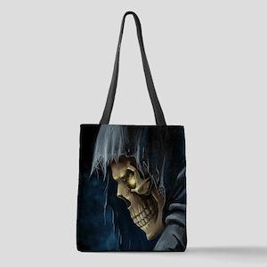 Grim Reaper Polyester Tote Bag