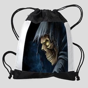 Grim Reaper Drawstring Bag
