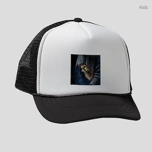 Grim Reaper Kids Trucker hat