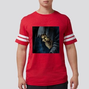 Grim Reaper Mens Football Shirt