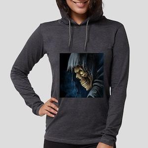 Grim Reaper Womens Hooded Shirt