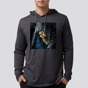 Grim Reaper Mens Hooded Shirt