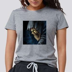 Grim Reaper Womens Tri-blend T-Shirt