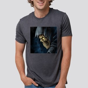 Grim Reaper Mens Tri-blend T-Shirt